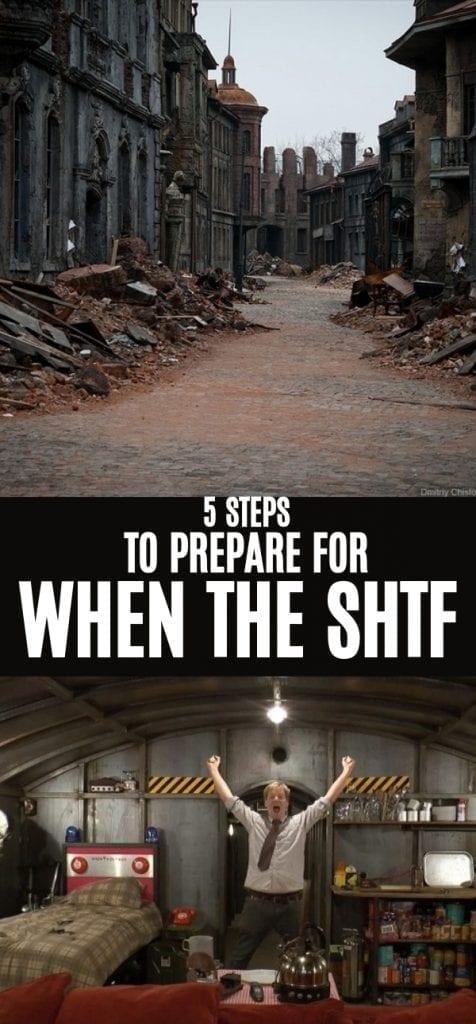 SHTF prepping