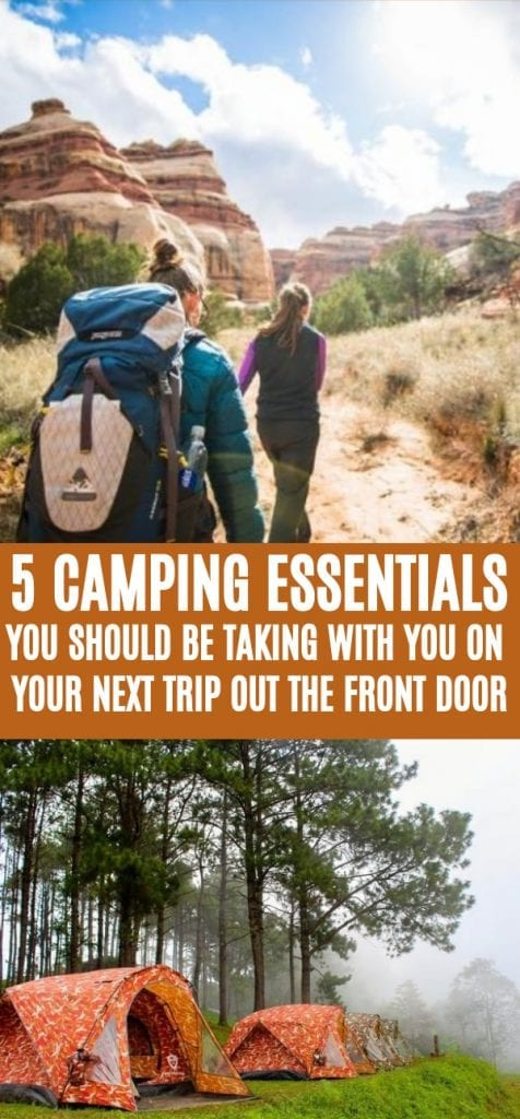 best camping essentials for the weekend