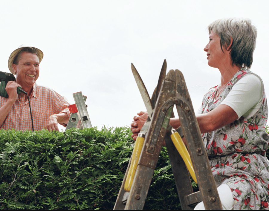 Homesteading neighbours rely on each other