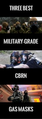 GAS MASKS: 3 Best Military-Grade CBRN Masks To Ensure Your Safety