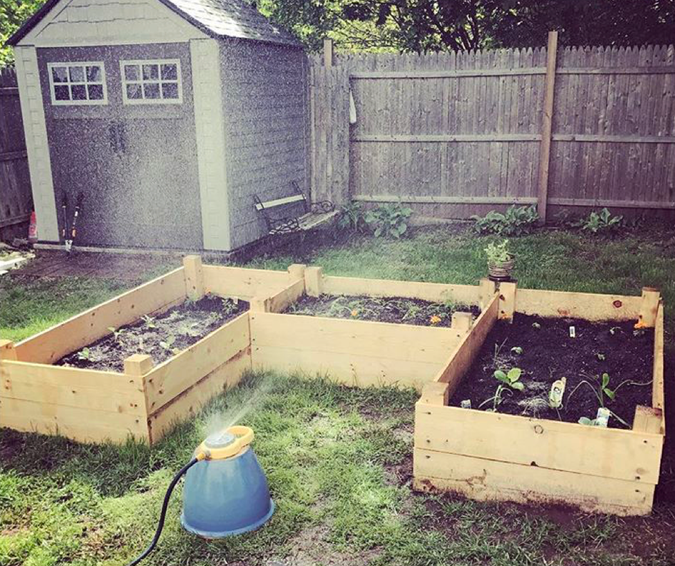 how to build gardening boxes