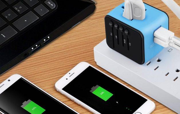 International charger adaptor plug